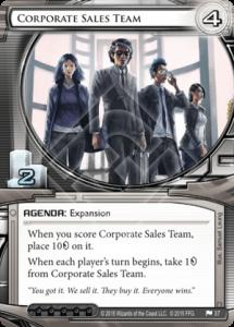 corporate sales team
